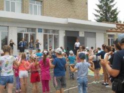 """2 июля в МБОУ СОШ открылась 2 смена лагеря """"Радуга"""