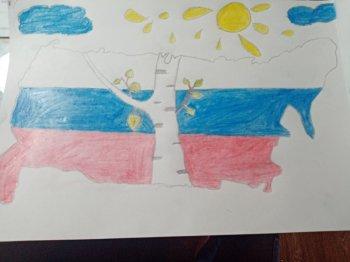 Выставка рисунков «Россия-Родина моя!»